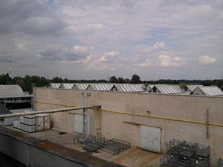 Zatékání do ploché střechy